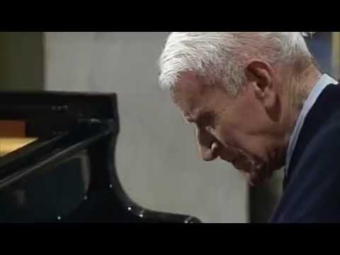 Vlado Perlemuter - Ravel Gaspard de la Nuit (Le Gibet)