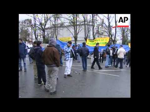 UK: LONDON: KURDISH PROTEST AT GREEK EMBASSY LATEST