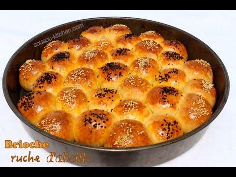 brioche-ruche-d'abeille-خلية-النحل-/honeycomb-bread