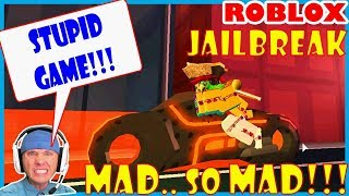 MAD.. MAD.. SOOO MAD! in Jailbreak // ROBLOX [SMASH that LIKE BUTTON!, THANK YOU!]