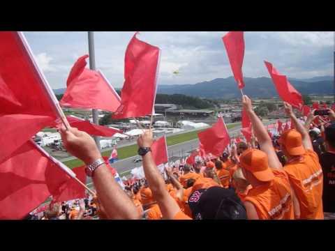 F1 Oostenrijk 2017 vanaf Max Verstappen Tribune