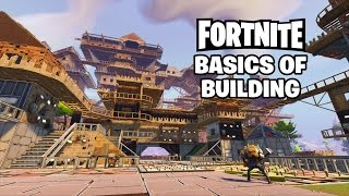 Basics of Building with the Constructor Hero (Fortnite Live Gameplay Segment)
