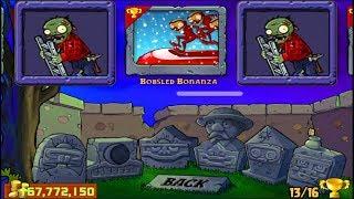 Plants vs Zombies | Minigames Bobsled Bonanza vs Zombies