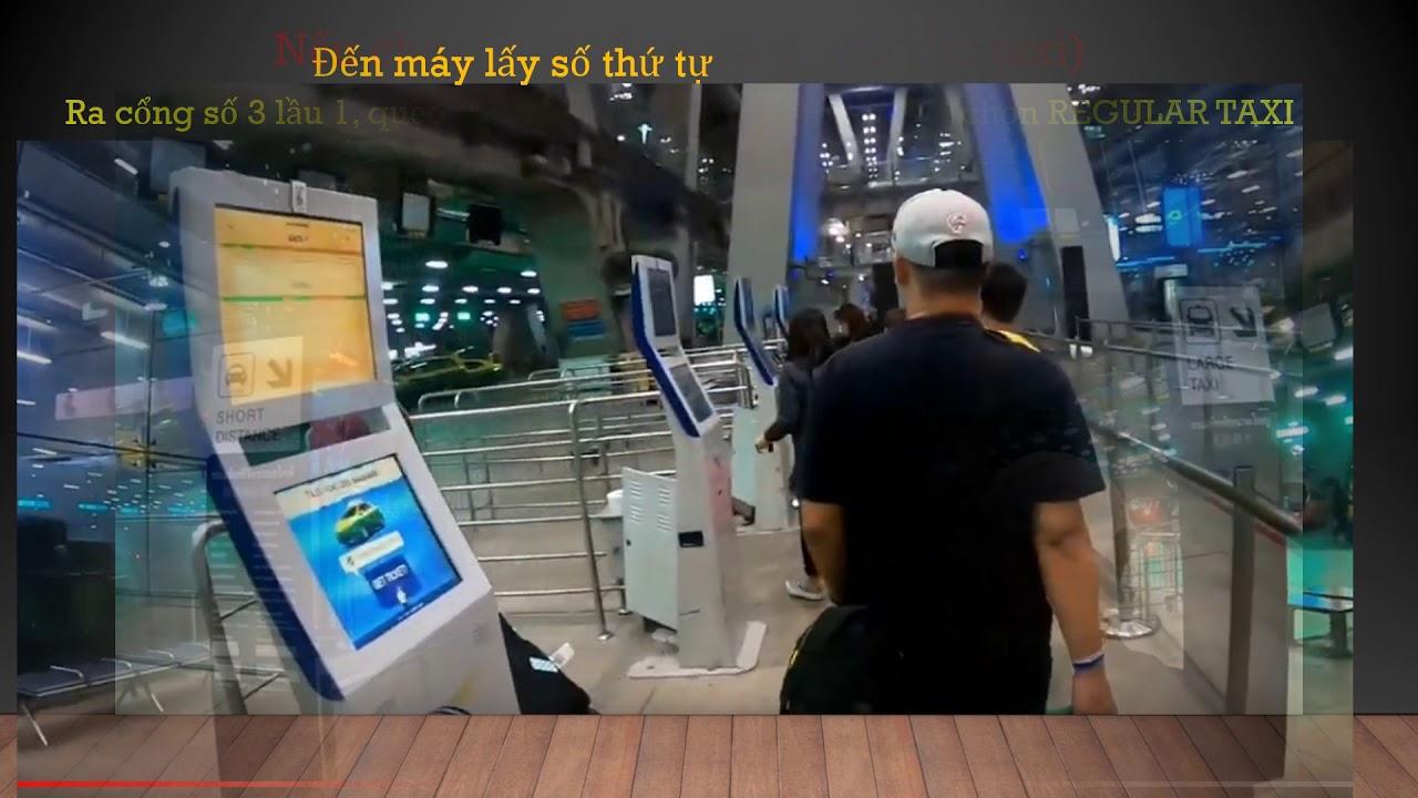 Di chuyển từ Bangkok airport đến Pattaya