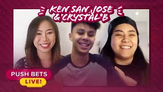 Ken San Jose at Crystal B, may bagong TikTok dance challenge | Push Bets Live