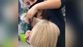 АККУРАТНАЯ ЖЕНСКАЯ СТРИЖКА Хорошо подстричься в Броварах Татьяна Бережная салон красоты La Familia