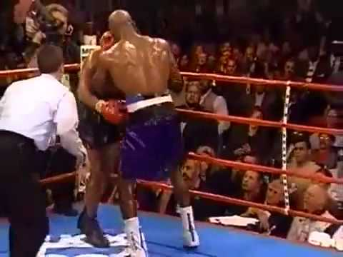 Mike Tyson Knocked out! Evander Holyfield KO's Iron Mike