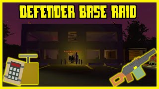 DEFENDER BASE RAID! PvP RAID! (UNTURNED 3.16)