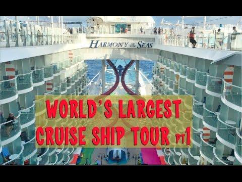 Royal Caribbean Harmony of the Seas Tour pt 1, Entertainment Place