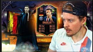 THE SCARIEST SCREAM CARD?! 86 ULTIMATE SCREAM DRAXLER PLAYER REVIEW! FIFA 20 Ultimate Team