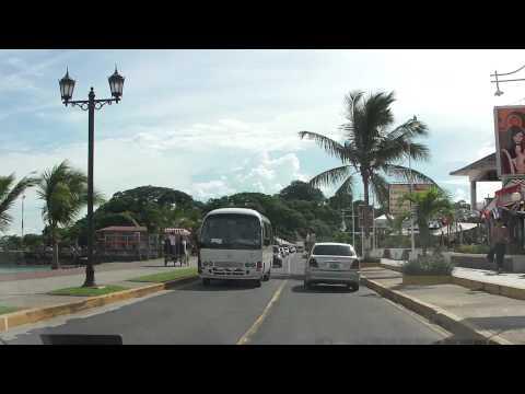Panama City area - driving around. Wakacje w Panamie.