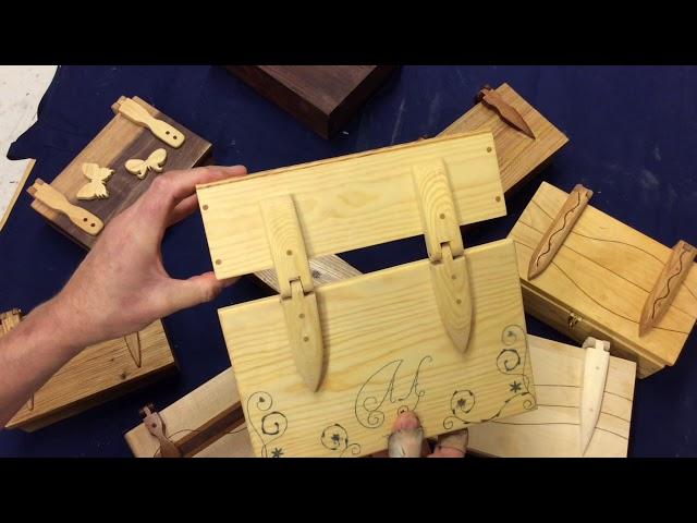 Designispiration till låda med trägångjärn av Slöjdvargen
