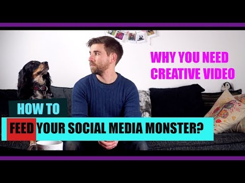 FEED YOUR SOCIAL MEDIA MONSTER - WHY CREATE VIDEO FOR YOUR BUSINESS