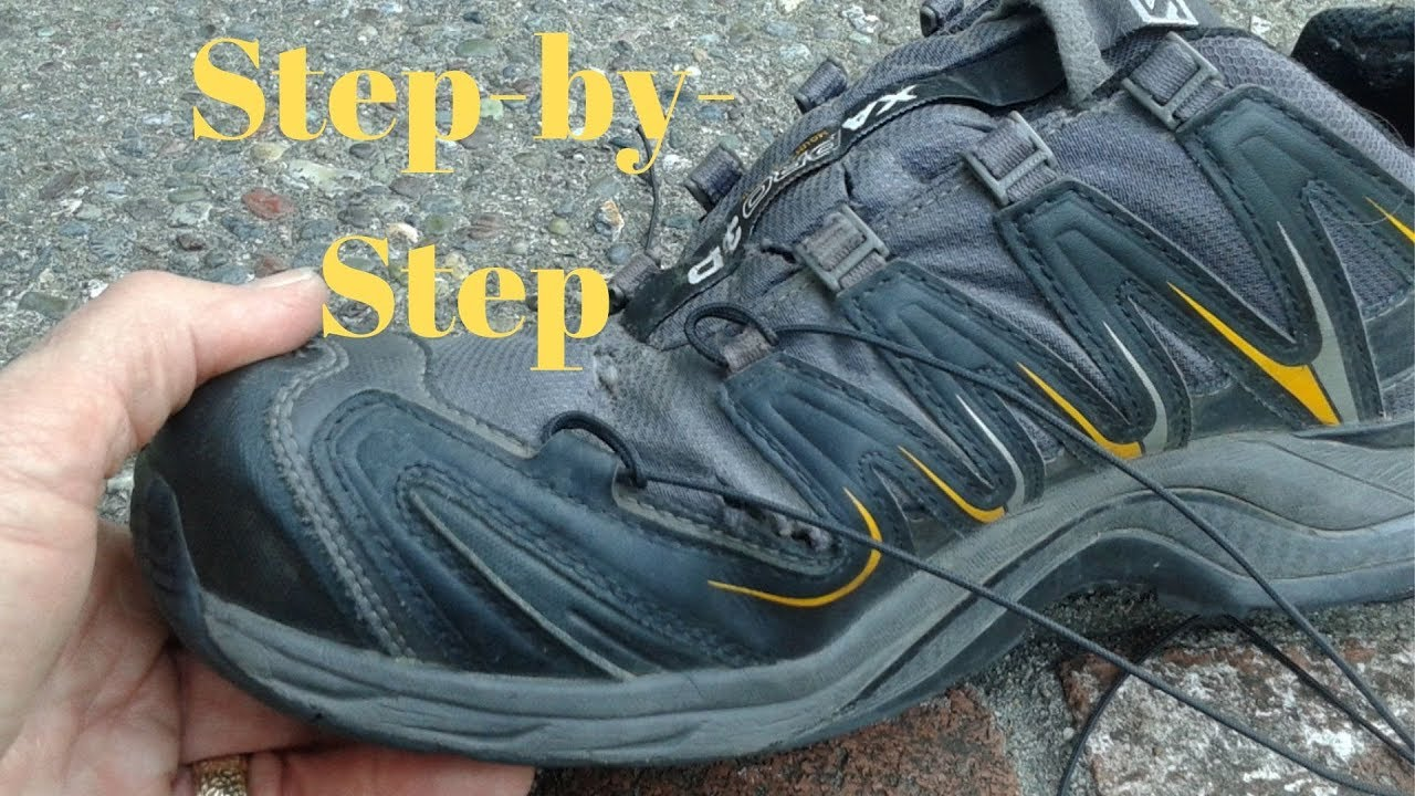 Salomon Quicklace System How To Use It YouTube