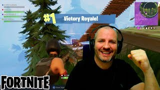 FORTNITE - #1 VICTORY ROYALE - GETTING THE FINAL KNOCK DOWN !!! Battle Royale