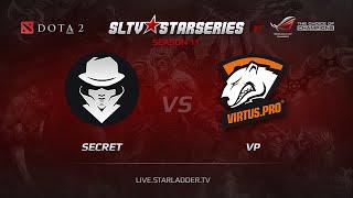 Secret vs VP, SLTV Europe Season 11, Day 10