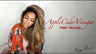 Apple Cider Vinegar: Hair Rinse -  DIY TUTORIAL | ARIBA PERVAIZ