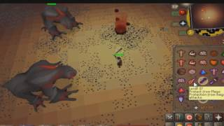 OSRS: Footage Of Wave 68 For Inferno Cape Caves | DedWilsonn