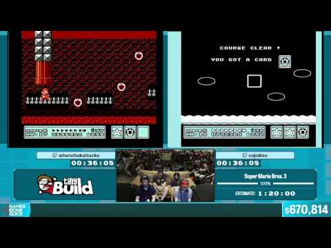 Super Mario Bros. 3 by Various Runners in 1:12:46 - Summer Games Done Quick 2015 - Part 138