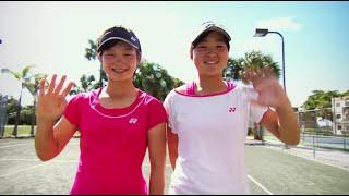 Sena Takebe & Natsumi Kawaguchi - Japanese Tennis Sensations
