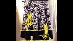 Rock oder Kleid einfach verlängern/lengthen your skrit or dress easy tutorial