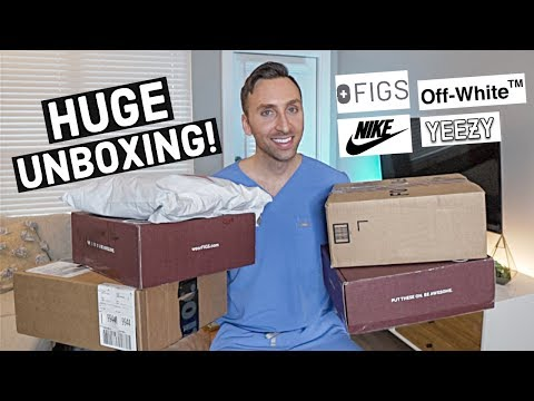 DOCTOR HAUL | SCRUBS, SNEAKERS, & More (Nike, Yeezy, Off-white)
