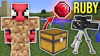 ZENGİN VS FAKİR ÖRÜMCEK ADAM #53 - Fakir Zengin'i Kandırdı Ruby'leri Kaçırdı (Minecraft) Video