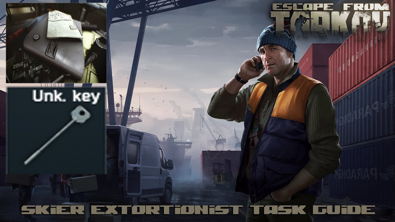 """Escape From Tarkov - Skier Task #2 """"The Extortionist"""" (Docs 0048) Quest Guide"""