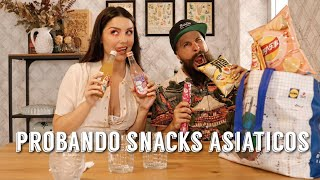 UNBOXING PROBANDO SNACKS ASIATICOS | Dirty Closet
