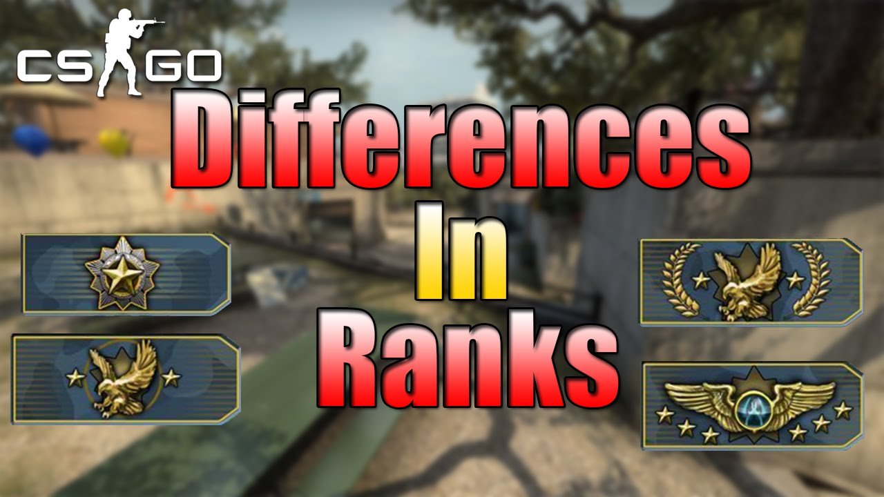 CS:GO-Differences In Ranks-Competitive Gameplay - YouTube
