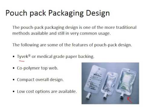 Week 4.2 Packaging type for Medical Devices