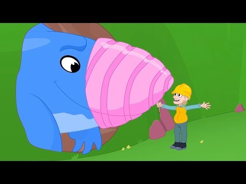 Morphle | Morphle & the Earth Shark | Animals for Kids | Learning for Kids | Kids Videos