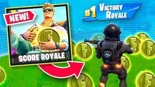 *NEW* COLLECT COINS MODE - SCORE ROYALE in Fortnite
