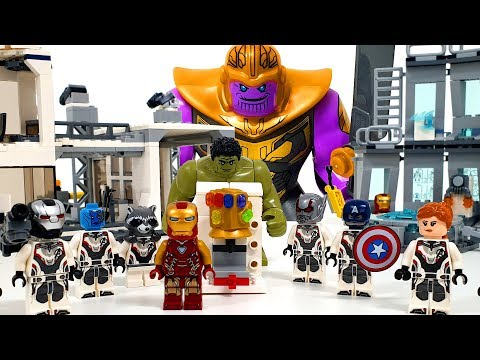 Avengers Endgame! Go back in time and bring Infinity Stone!❤️ RACHAMAN TOY