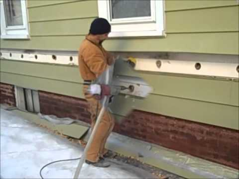 how to stop blow out when drilling through wall