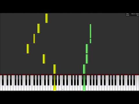 Mystic Messenger - Light and Daffodils Piano Tutorial SHEETS + MIDI
