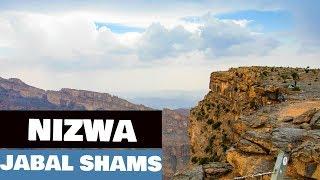 Muscat to Nizwa, Jebel Shams [4K]