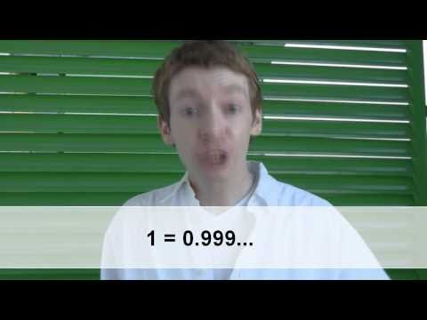 Why does 1=0.999...?