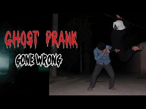 Ghost Prank | Scary Prank Gone Wrong | Guppans
