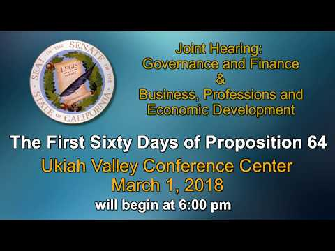JOINT HEARING GOVERNANCE AND FINANCE AND BUSINESS, PROFESSIO