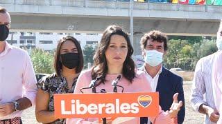 Arrimadas anuncia que Cs presentará una enmienda a la totalidad de los PGE