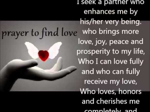 Prayer for true love catholic