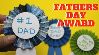 Fathers Day Award   Fathers Day Crafts