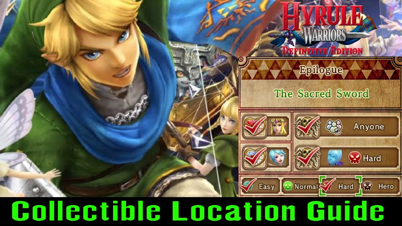 A War Of Spirit Collectible Guide Hyrule Warriors Switch 2018 Youtube
