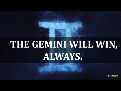 PSYCHOLOGICAL FACTS ABOUT GEMINI ZODIAC SIGN