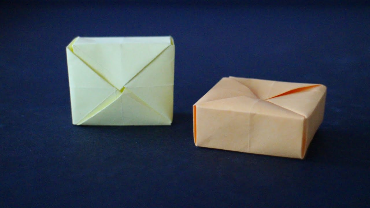 Basteln Mit Papier Schachtel Zb Für Geschenk An Weihnachten Geburtstag Hochzeit W