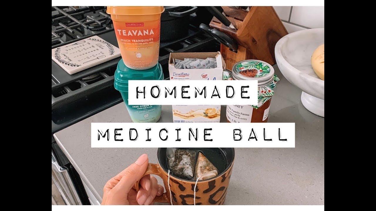 HOMEMADE MEDICINE BALL RECIPE - YouTube