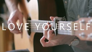 Love Yourself Justin Bieber Fingerstyle Guitar By Peter Gergely