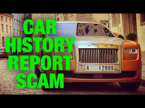Car History Report Scam