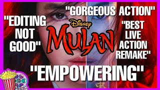 MULAN REVIEW | SOCIAL MEDIA REACTION | THE BEST LIVE ACTION REMAKE?